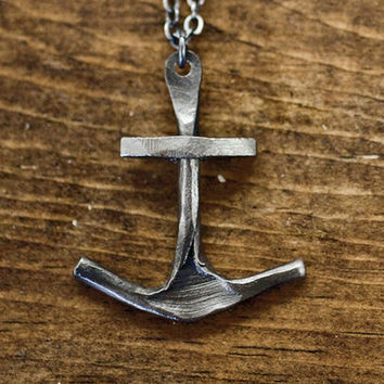 CXXVI Clothing Co. — Anchor II Necklace
