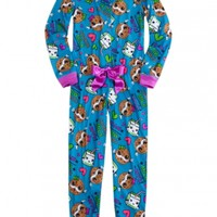 Milk And Cookies Footless Pajama | Girls Pajamas Pjs, Bras & Panties | Shop Justice