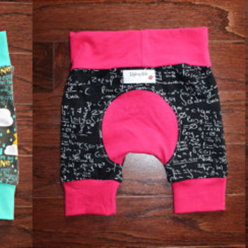 Custom Shortiloones, Maxaloone shorts, choose size and fabric, made to order, cloth diaper shorts