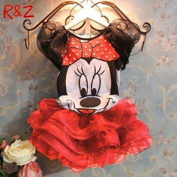 Minnie Mouse Tutut Clothing Set