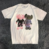 hcxx 19May 2231 Dior × Kaws short sleeve loose Sprint T-Shirt