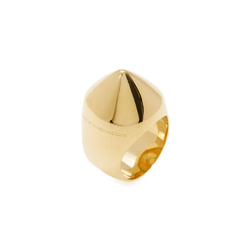Marc by Marc Jacobs Jewelry Women's Cone Head Ring - Gold -