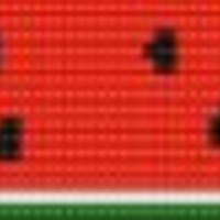 Watermelon Seed Bead Loom Bracelet Pattern