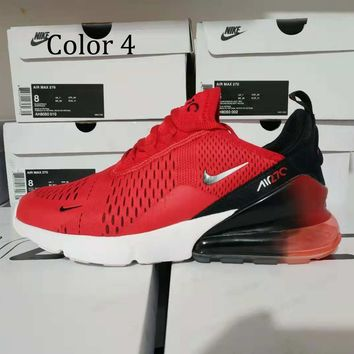 Nike Air Max 270 Men Women Running Shoes Contrats Sneakers B/A Red