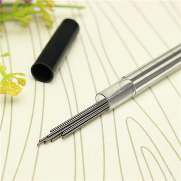 2B 0.7mm Black Lead Pencil Refills Tube Box With Case For Automatic Mechanical Pencil