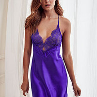 Satin & Lace Low Back Slip - Very Sexy - Victoria's Secret