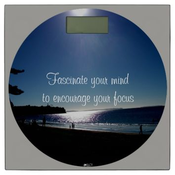 Fascinate Quote by Kat Worth Bathroom Scale