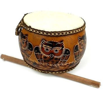 Owl's Nest Drum - Jamtown World Instruments