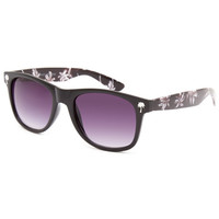 Blue Crown Palm West Sunglasses Black One Size For Women 25643710001