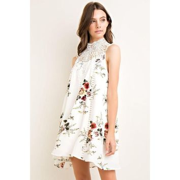 Sugar Blossom Shift Dress