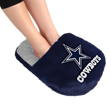 Dallas Cowboys Official NFL Team Logo Plush Feetoes