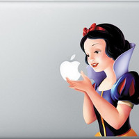 Snow White Macbook Decal Macbook Decals Macbook by Angeldecal