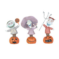 The Nightmare Before Christmas Lock Shock & Barrel Figurine Set
