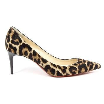 Multicolor 36 EUR - 6 US Christian Louboutin Womens Pump DECOLLETE 554 70 PONY 50S
