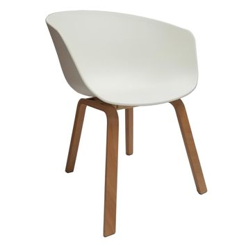 Shen Dining Chair, White