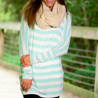 Summer Rain Top, Mint
