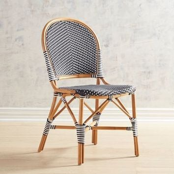 Juliane Black Cafe Dining Chair