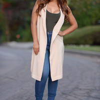 Business Model Vest - Blush