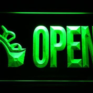 Women's Shoe Store Open LED Neon Light Sign