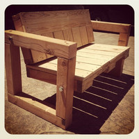 Pallet Bench - Upcycled Patio Furniture