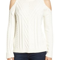 Vince Camuto Cold Shoulder Sweater (Regular & Petite) | Nordstrom