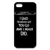 Rock Band A Day to Remember iPhone 5/5S Case Hard Back Cover Skin Case for iPhone 5/5S