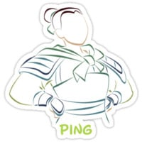 Ping (Personalized, please Bubblemail/email me before ordering)