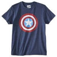 Men's Captain America Shield Graphic Tee