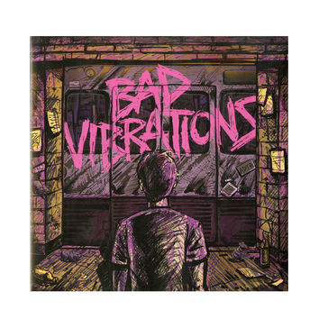 A Day To Remember - Bad Vibrations Vinyl LP Hot Topic Exclusive