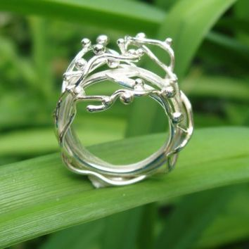 Thistle Ring by MFJDesigns on Etsy