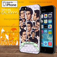 Dylan O'brien collage  For Samsung Galaxy S3 / S4 / S5 and IPhone 4 / 4S / 5 / 5S / 5C Case