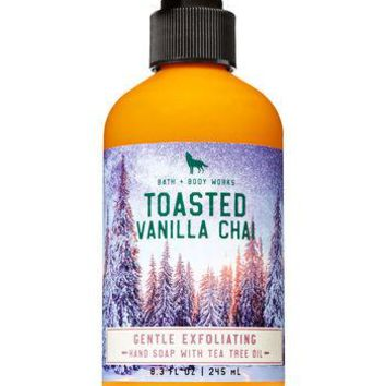 Bath & Body Works TOASTED VANILLA CHAI Gentle Exfoliating Hand Soap