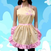 Fluttershy Apron Cosplay Costume Cook Baker Chef MLP