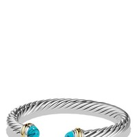 David Yurman 'Cable Classics' Bracelet with Gold | Nordstrom