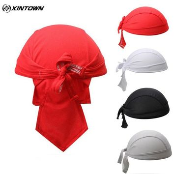 Women Men Cycling Cap Quick-dry Outdoor Sport Bicycle Sweatproof Headscarf Pirate Scarf Hood MTB Racing Bandana Hat Ciclismo