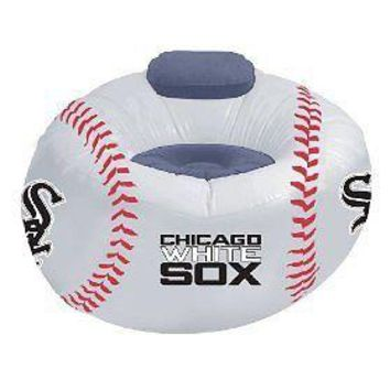 Chicago WHITE SOX Large Inflatable Air CHAIR w/Pump