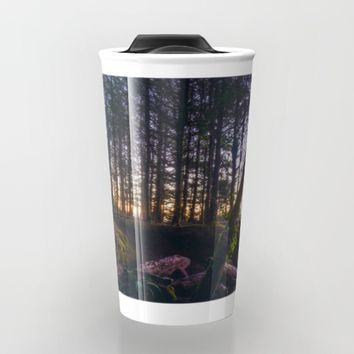 Wooded Tofino Travel Mug by Mixed Imagery