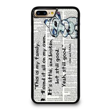 LILO AND STITCH QUOTES Disney iPhone 4/4S 5/5S/SE 5C 6/6S 7 8 Plus X Case