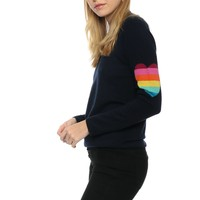 WYSE Heart Sweater