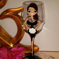 Bridesmaid wine glass, 3d Boob wine glasses, personalized,  wedding, Bridesmaid Gifts