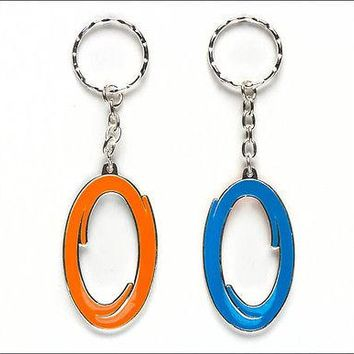 Portal 2 Inter-Spatial Double Sided Keychain Bag Zipper Pull Official Licensed