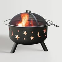 Black Steel Celestial Fire Pit