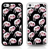 Kylie Jenner, Case Cover for iPhone Samsung Sony White Lipstick Kylie sexy lips