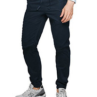 Match Men's Loose Fit Chino Washed Jogger Pant #6535