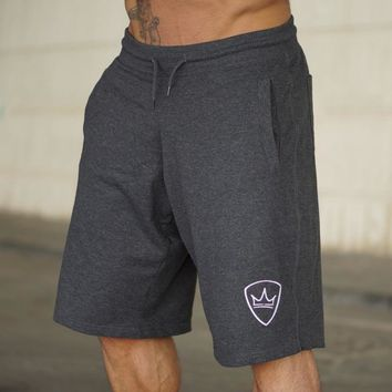 Men Cotton Summer Loose shorts Running Jogging Outdoor Sports Gym Fitness Sweatpants 2018 New Male Workout Crossfit Short pants
