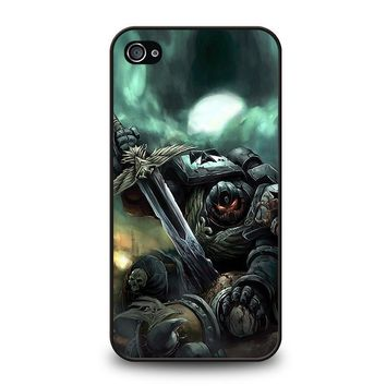 warhammer black templar iphone 4 4s case cover  number 1