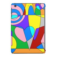 Retro Colorful Abstract iPad Mini Retina Case