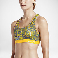 The Nike Pro Classic Padded Tidal Multi Women's Sports Bra.