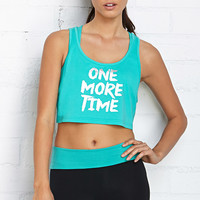 One More Time Workout Tank