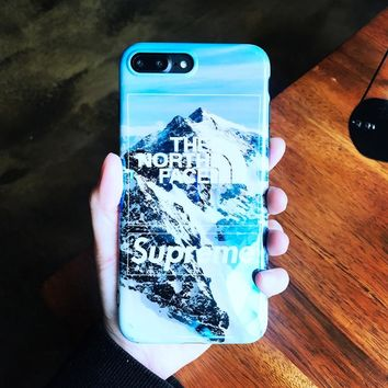 THE NORTH FACE SUPREME SNOW CASE FOR IPHONE